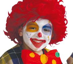maquillage facile de clown th me du cirque pinterest. Black Bedroom Furniture Sets. Home Design Ideas