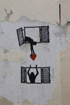 From the rat, I guessing this is another piece from the symbolic genius - Banksy. 3d Street Art, Street Art Banksy, Murals Street Art, Banksy Art, Street Artists, Bansky, Berlin Graffiti, Best Street Art, Land Art