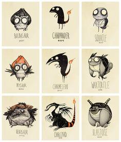 Tim Burton + Pokémon = Awesomenenss