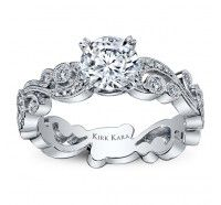 WANT THIS TO BE MY ENGAGEMENT RING!! Kirk Kara Engagement Ring