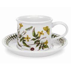 Portmeirion Botanic Garden 7 oz. Coffee Cup and Saucer