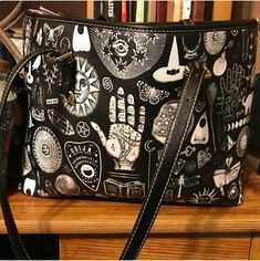 b46a87cd9b Witch Please - Big artificial leather bag