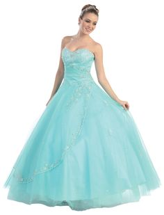 Magnificent Ball Dress  :: Ball Gowns / Quinceanera Dresses :: Formal Dress...