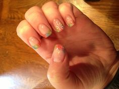 Spring gel nails March 2013
