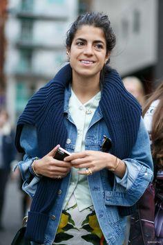 Entre audace, confort et allure, Leandra Medine a souvent tout bon (photo Buro Paris Street Fashion, Milan Fashion Weeks, London Fashion, Leandra Medine, Looks Style, Style Me, Love Fashion, Fashion Outfits, Look Street Style