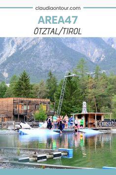 Die AREA 47 im Tiroler Ötztal ist ein Abenteuerspielplatz für Erwachsene. Rafting oder Flying Fox sind nur zwei von vielen Angeboten. Rafting, Area 47, Reisen In Europa, Travel Guide, Germany, Europe, Mountains, Hotels, Lifestyle