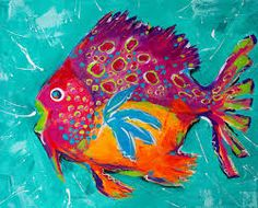 Image result for fish paintings