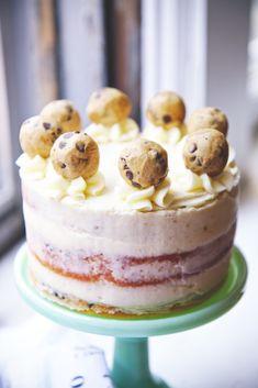 Cookie Dough Cake   La Pêche Fraîche