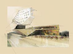 MY.A.ARCHSKETCHCLOUD - drawingarchitecture: Steven Sanchez