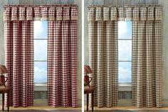 Buffalo Check Country Curtain Panel