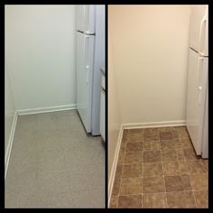 High Quality How To Temporarily Redo Your Kitchen Floor For $30 U2013 For Renters!