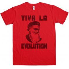 Viva la evolution t-shirt | Top Selling | Best Sellers | T Shirts | Mens