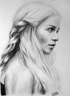 daenerys targaryen drawing - Google Search