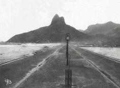 Praia do Leblon inicio do Seculo XX