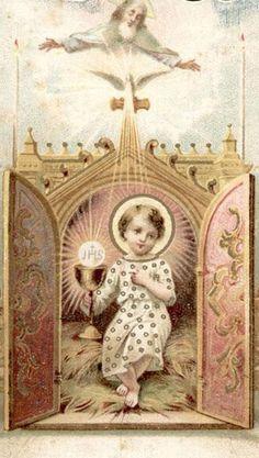 ¡Oh, Salvador del mundo, Divino Infante!, haz que el mundo no sea para mí sino un medio para llegar a Ti.