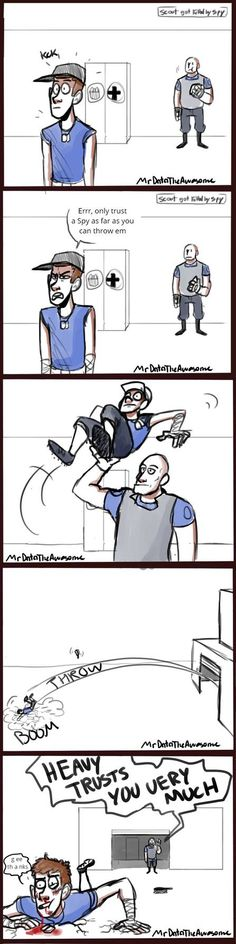 consent by infamously-dorky on DeviantArt Tf2 Funny, Funny Comics, Haha Funny, Hilarious, Gamer Humor, Gaming Memes, Deadpool Quotes, Team Fortress 2 Medic, Tf2 Memes