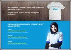 #Sayembara #LombaDesain #TShirt #Niagahoster #unlimitedhosting Lomba Desain T-Shirt Niagahoster 2015 Berhadiah Paket Hosting Gratis Selamanya  DEADLINE: 16 Agustus 2015  http://infosayembara.com/info-lomba.php?judul=lomba-desain-t-shirt-niagahoster-2015-berhadiah-paket-hosting-gratis-selamanya