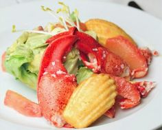 Chef Emeritus: Chilled Lobster Salad With Lemon Thyme Madeleine