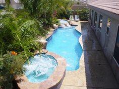 Small Backyard Pools Photo Gallery
