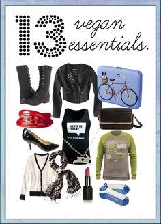 Fashion Friday: 13 Vegan Fashion Essentials | Fashion | Living | PETA