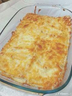¡¡¡A Comer...!!!: Pastel de pan bimbo, jamón, queso y bechamel