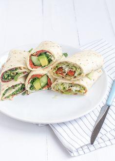 Easy tortilla wraps
