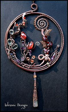 Gemstone Garden Suncatcher