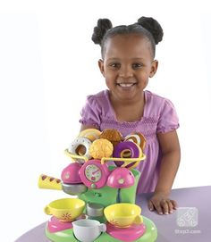 NEW Step 2 Cafe Barista Coffee Shop Tea Set Kids Toys
