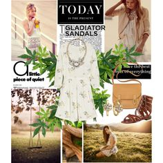 How Do You Style Gladiator Sandals?, created by azi-izbassarova on Polyvore
