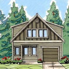 Tool Box, Accessory Dwelling Unit w/ Garage – New homes in Portland Oregon, built green – Renaissance Homes.