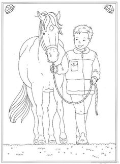 Horse Coloring Pages 27
