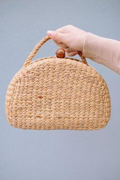 Seagrasstotes Basket Bag