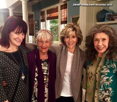 We had many women directors and wonderful guest stars.  Here we are with writer Alexa Jung and guest star Estelle Parsons.