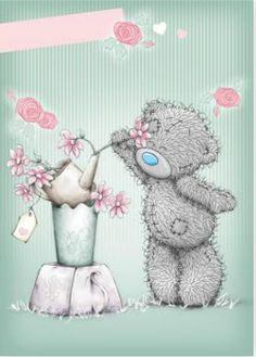Florynda del Sol ღ☀¨✿ ¸.ღ Anche gli Orsetti hanno un'anima…♥ Teddy Bear Images, Teddy Pictures, Cute Pictures, Tatty Teddy, Teddy Beer, Blue Nose Friends, Bear Graphic, Cute Clipart, Cute Teddy Bears