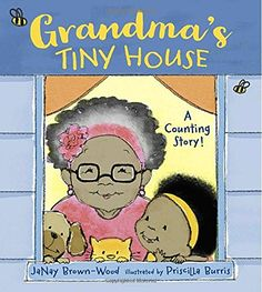 Buy Grandma's Tiny House by Janay Brown-Wood at Mighty Ape NZ. This sweet, rhyming counting book introduces young readers to numbers one through ?fteen as Grandma's family and friends ?ll her tiny house on Brown S. Toddler Books, Childrens Books, Toddler Stuff, Kids Book Club, Counting Books, Bookshelves Kids, Penguin Random House, Toddler Preschool, Toddler Storytime