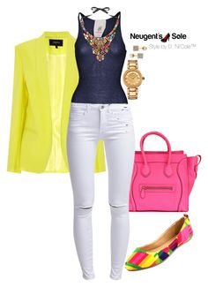 """""""Untitled #3243"""" by stylebydnicole ❤ liked on Polyvore featuring Friendly Hunting, ONLY, Versace and Vita Fede"""