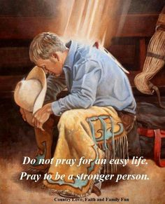 What a Great Way to Start Ones' Day - Cowboy Strength ~ Art by Steven Lang Real Cowboys, Cowboys And Indians, Western Photo, Western Art, Western Style, Pinstriping, Cow Girl, Cowboy Prayer, Cowboy Pictures
