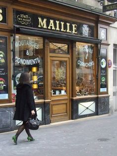 classic french shop