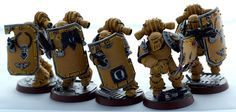 Imperial Fists boarding party
