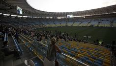 FOTOS: el mítico estadio Maracaná abrió sus puertas con un renovado diseño