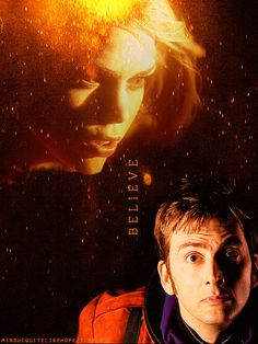 The Doctor + Rose Tyler: You must believe in something #doctorwho