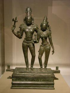 https://flic.kr/p/6yX4wA | Images of God | @ Kunsthal, Rotterdam  Siva and Parvati, India(?) Tamil Nadu(?)