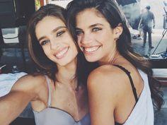 Taylor Hill & Sara Sampaio