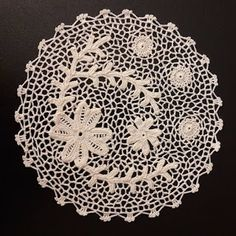 Orvieto Lace Crochet - Lo scrigno dei merletti Thread Crochet, Filet Crochet, Irish Crochet, Crochet Lace, Bruges Lace, Fiber Art, Sewing, Hunters, Crafts