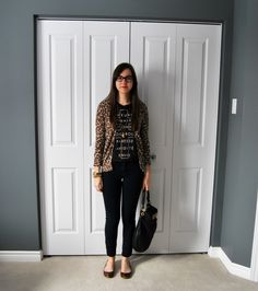 weekend wear - leopa