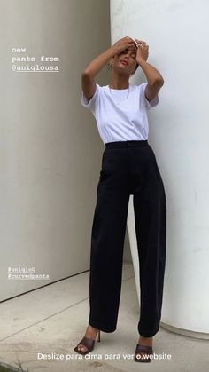 Mode Outfits, Casual Outfits, Fashion Outfits, Womens Fashion, Minimal Fashion, Work Fashion, Foto Instagram, Well Dressed, Fasion