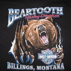 Stop by Beartooth Harley-Davidson/Buell while visiting Billings and receive 15% off one of our Custom Dealer Logo T-Shirts.