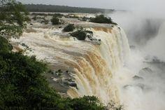 Shooting in the rain at Foz de Iguacu, Brazil