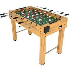 """BestChoiceproducts BCP 48"""" Foosball Table Competition Sized Soccer Arcade Game Room football Sports Sears"""