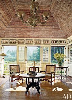 Exotic Dining Room by Made Wijaya and Made Wijaya in Ubud, Bali